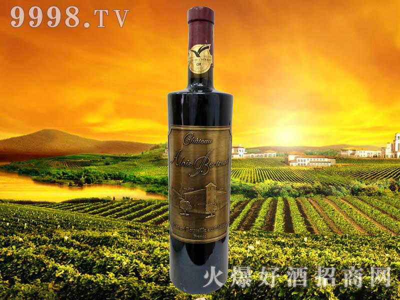 贝特朗城堡干红葡萄酒14度2012年