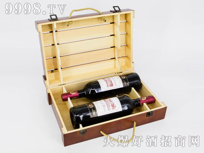 法国・海菲干红葡萄酒・双支礼盒