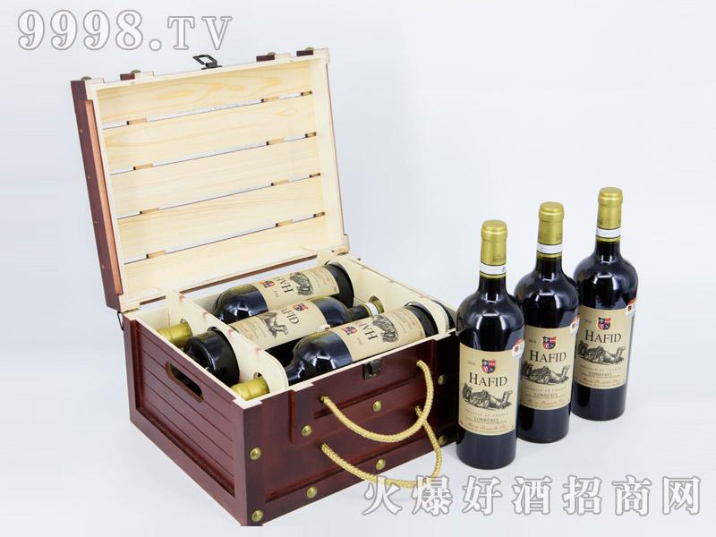 法国・海菲公爵干红葡萄酒・六支礼盒装