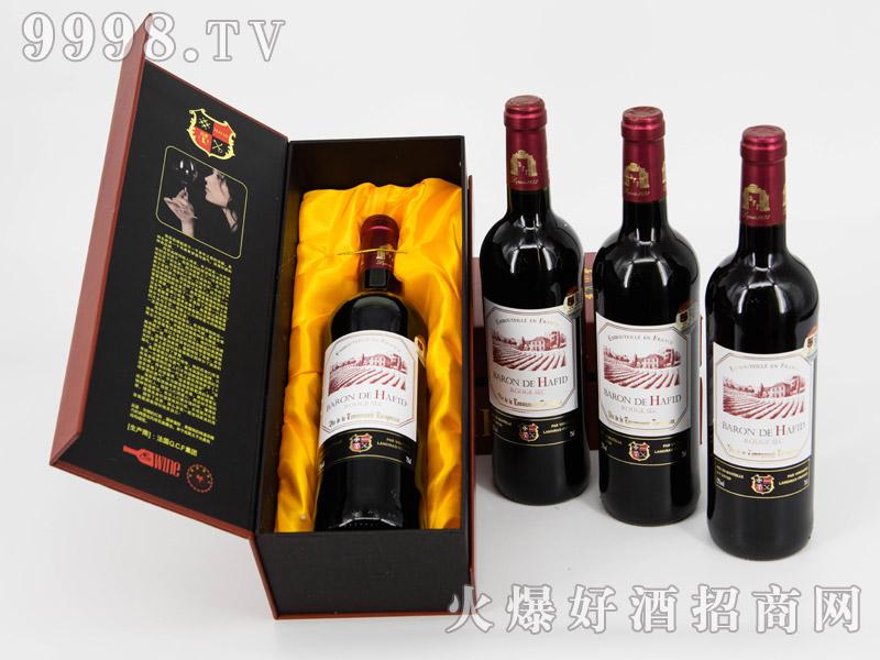 法国・海菲干红葡萄酒・单支礼盒