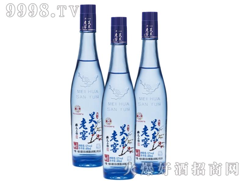 关东老窖・梅花三韵(蓝瓶)