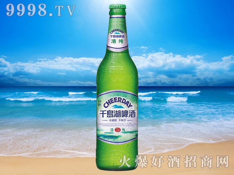 千岛湖啤酒清纯7度488ml