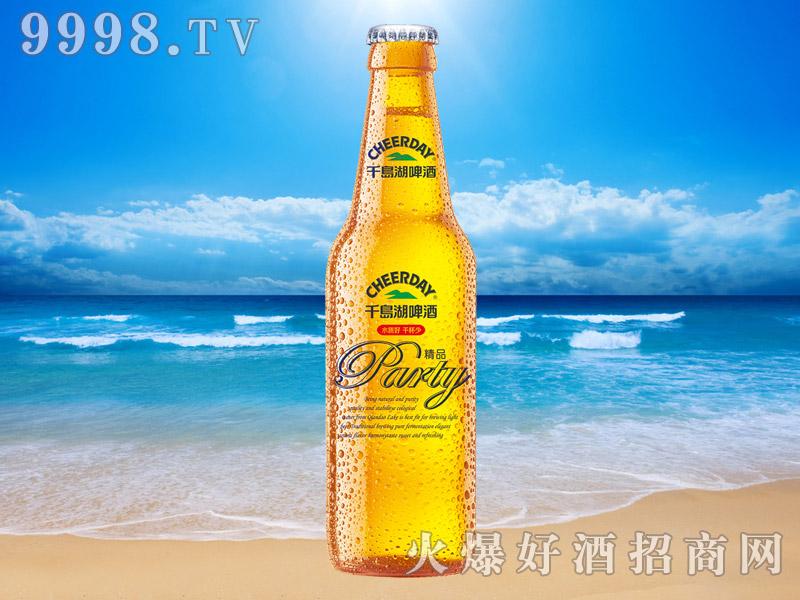 千岛湖啤酒精品8度330ml