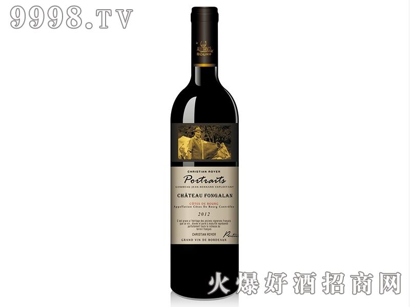 风铃古堡克里斯蒂安红葡萄酒