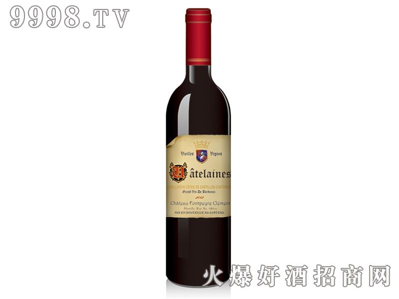 克莱蒙白马干红葡萄酒