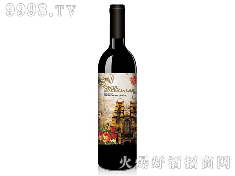 历史追忆录之巴黎圣母院梅洛干红葡萄酒