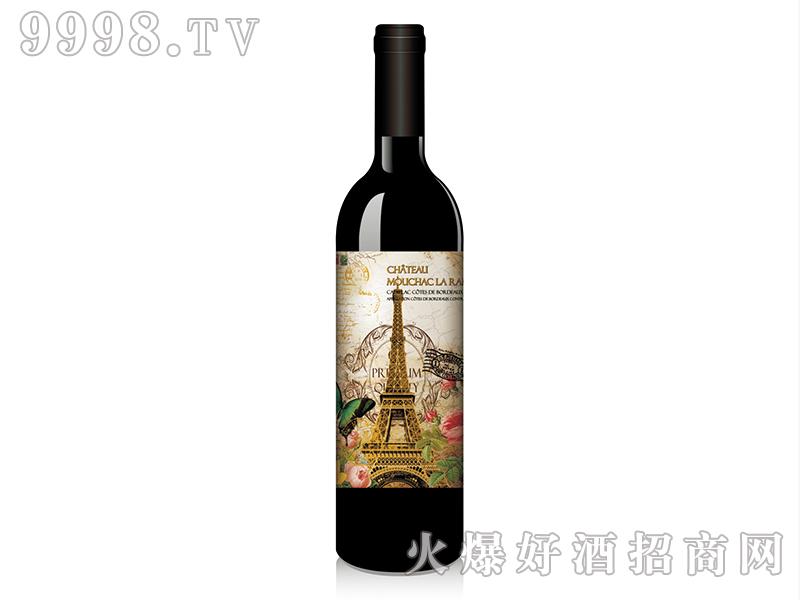 历史追忆录之巴黎铁塔蔓莎古堡干红葡萄酒