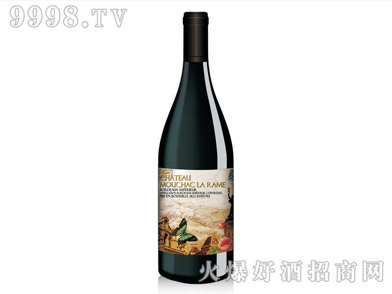 历史追忆录之巴黎铁塔梅洛干红葡萄酒
