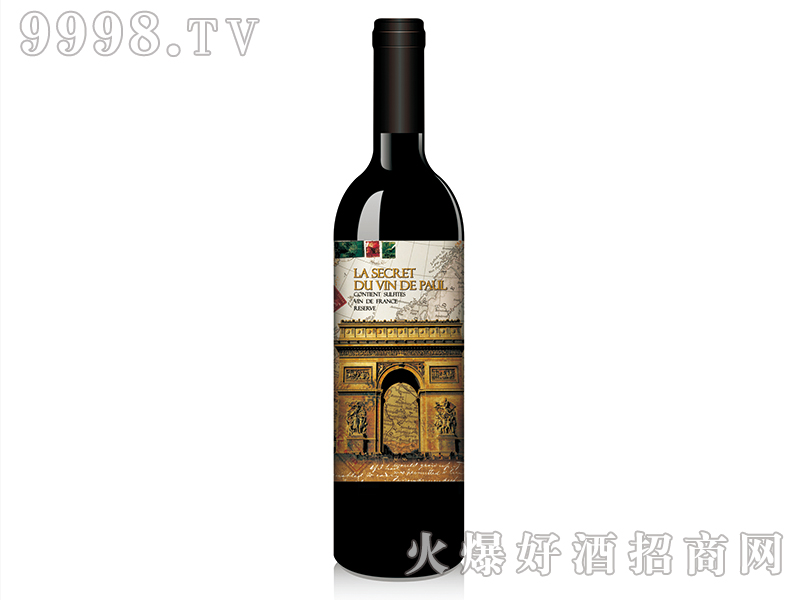 历史追忆录之凯旋门赤霞珠干红葡萄酒