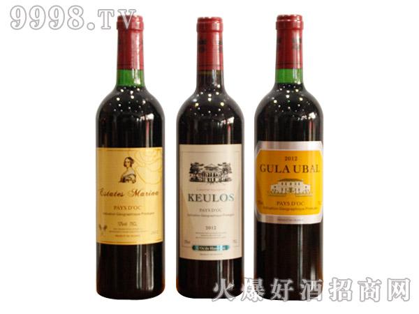 马哥帝国干红葡萄酒750ml