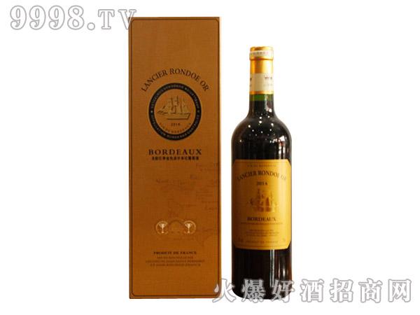龙船洛德金色波尔多干红葡萄酒750ml