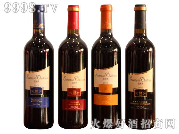 轩斯堡光瓶干红葡萄酒系列750ml