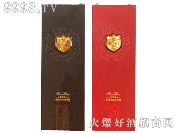 轩斯堡干红葡萄酒盒装750ml