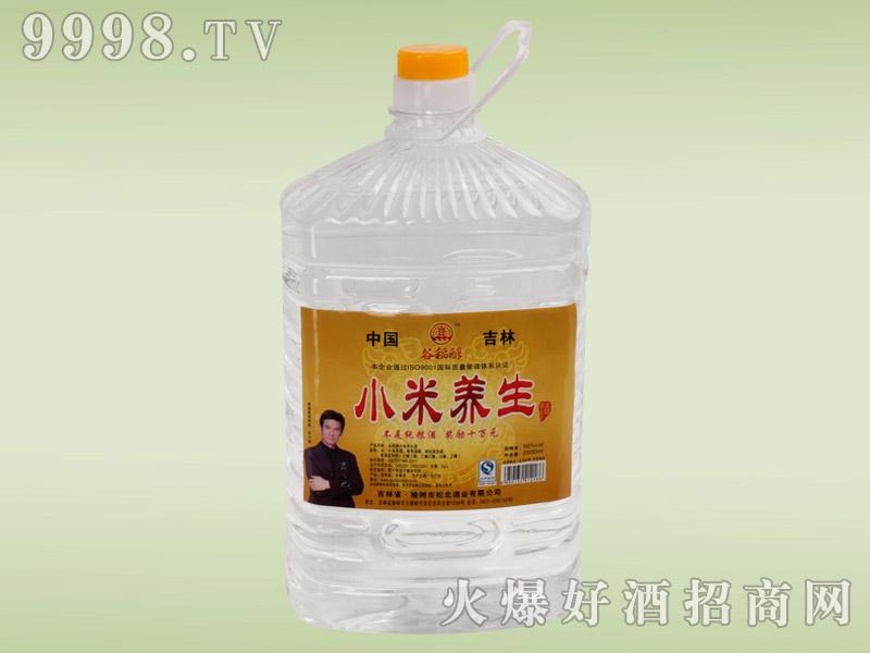 松北谷稻醇小米养生酒2.5L
