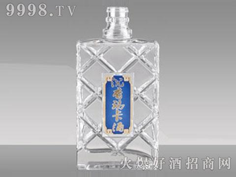 沉香玛卡晶白酒瓶JB-094 500ml