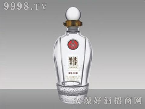 东方娇子晶白酒瓶JB-041 450-500ml
