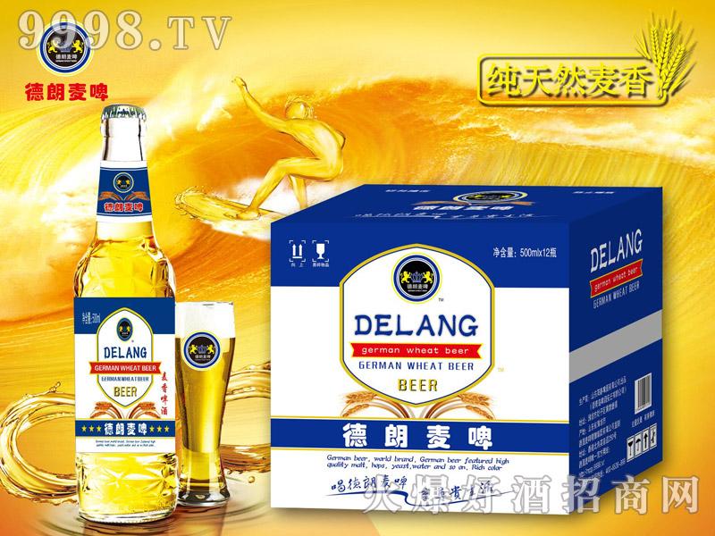 德朗麦啤・麦香啤酒500mlx12瓶