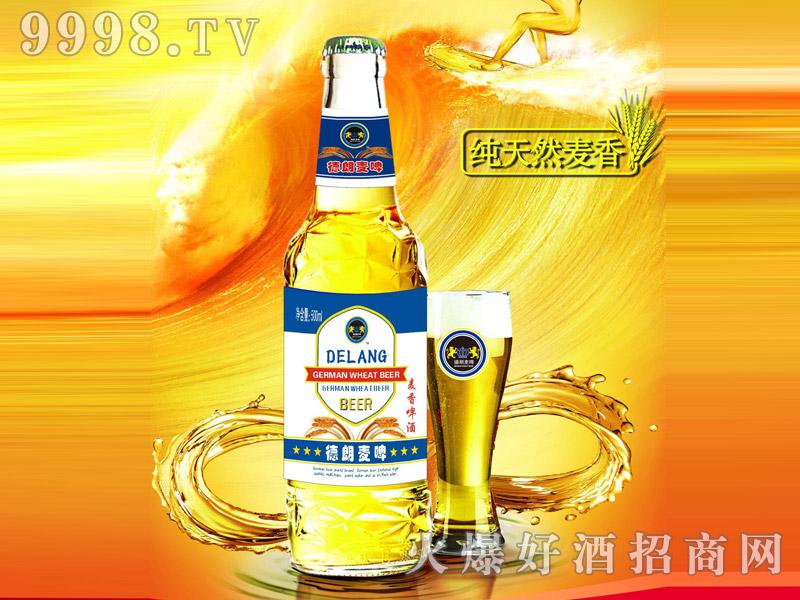 德朗麦啤・麦香啤酒500ml(瓶)