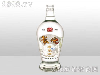 郓城龙腾包装精白玻璃瓶-633贡池-500ml
