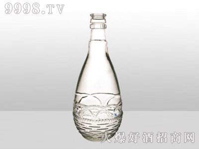 郓城龙腾包装精白玻璃瓶-611精品-500ml