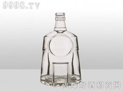 郓城龙腾包装精白玻璃瓶-610商务-500ml