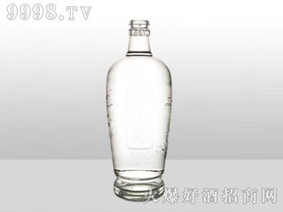 郓城龙腾包装精白玻璃瓶-609清香酒-500ml