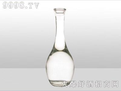 郓城龙腾包装精白玻璃瓶-590长瓶-500ml