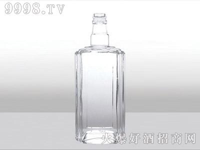郓城龙腾包装精白玻璃瓶-553陈曲酒-500ml
