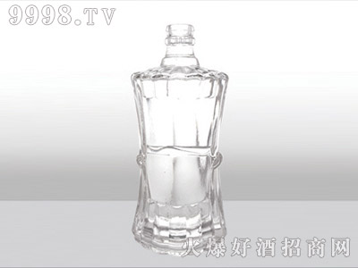 郓城龙腾包装精白玻璃瓶-533陈曲-500ml
