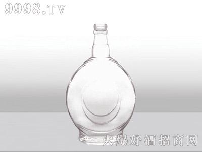 郓城龙腾包装精白玻璃瓶-530大肚-500ml