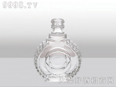 郓城龙腾包装精白玻璃瓶-517珍品装-125ml