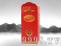 同心印刷-珍藏老酒红盒