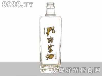 华信晶白玻璃瓶孔府家酒ZH-J-119-500ml