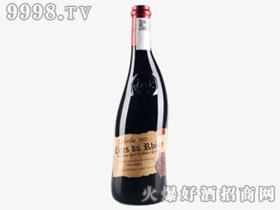 波特芙华歪脖子红葡萄酒