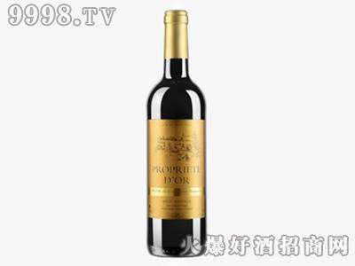 金庄园干红葡萄酒