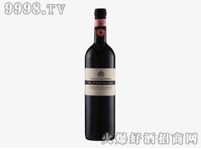 意大利经典基安蒂DOCG白公鸡干红葡萄酒