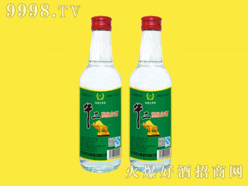 京华门牛二陈酿白酒42度260ml