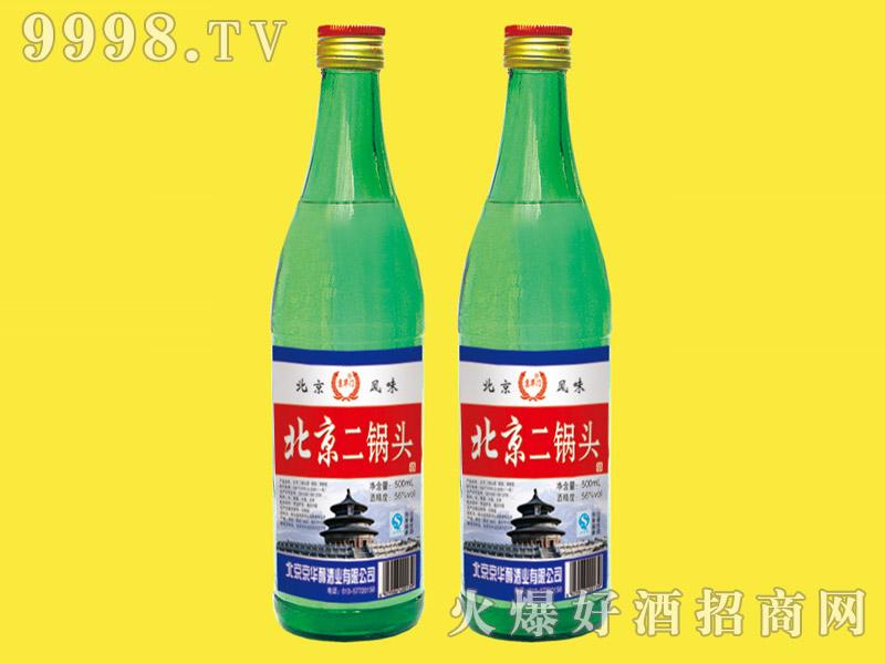 京华门北京二锅头酒56度500ml(绿瓶天坛)