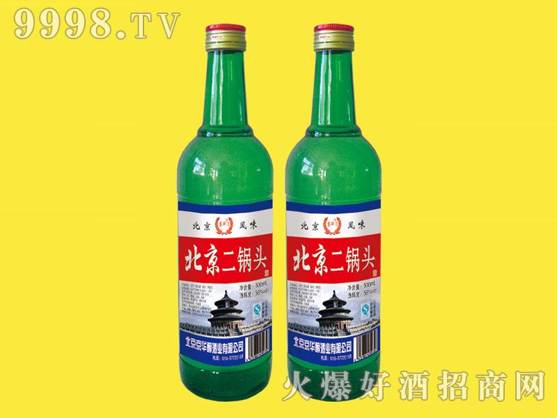京华门北京二锅头酒56度500ml(绿瓶)