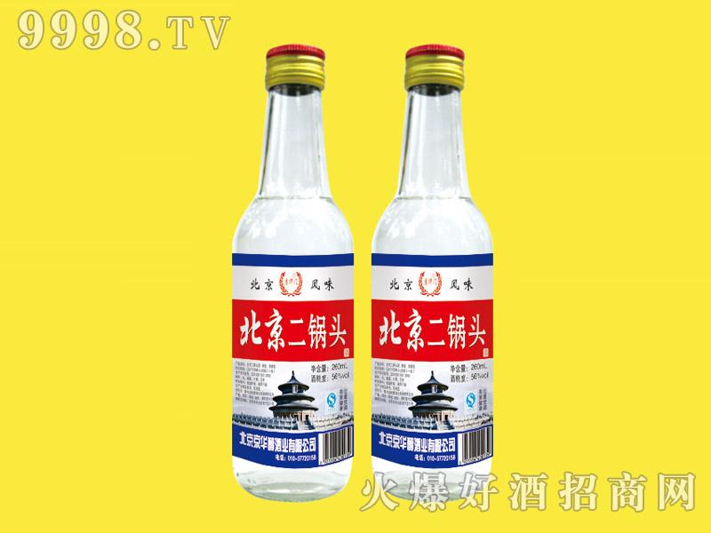 京华门北京二锅头酒56度260ml(白瓶)