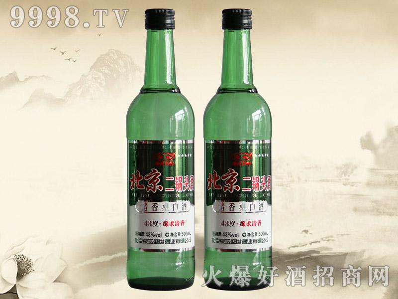京坛北京二锅头酒绵柔清香43°56°