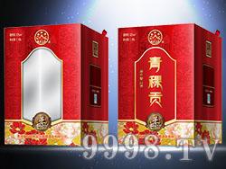 同心印刷-青稞贡(红)礼盒