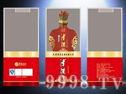 同心印刷-津酒 透明盒