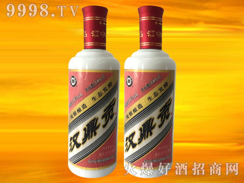汉鼎贡五星浓香酒