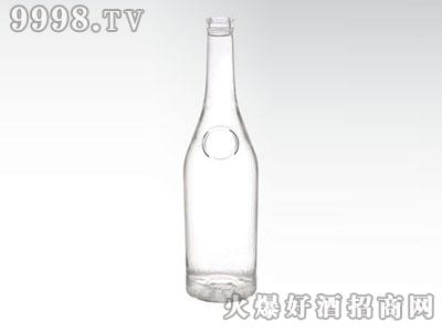 华信晶白玻璃瓶圆孔JB-219 500-700ML