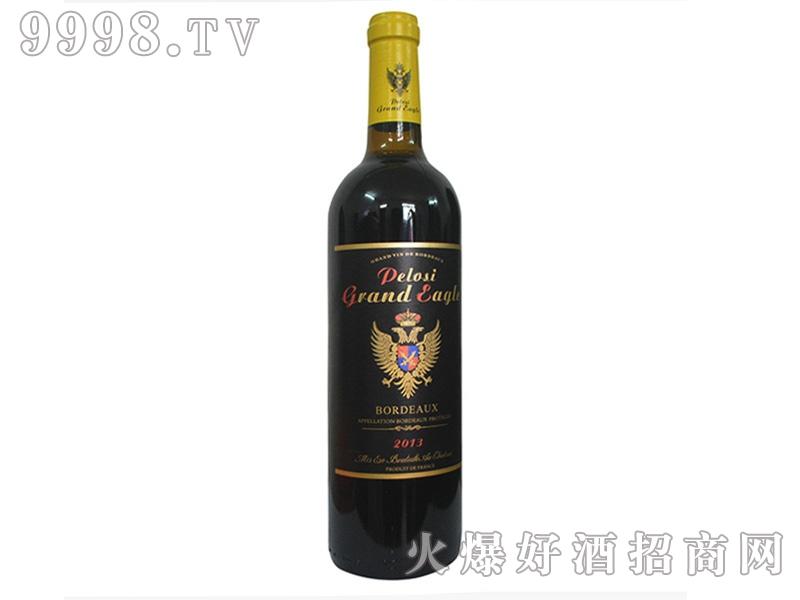爵佩鹰・赤霞珠干红葡萄酒2013