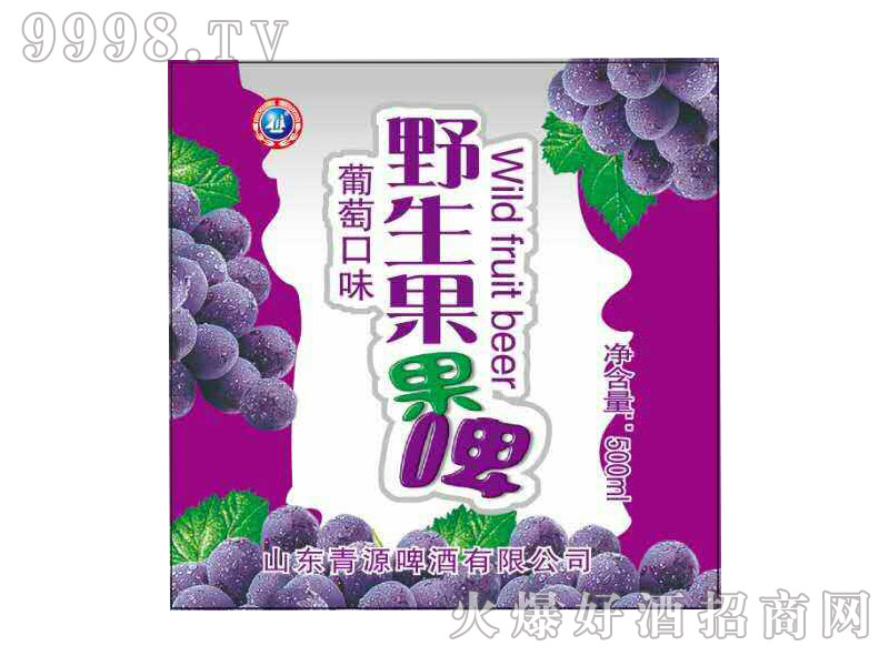 野生果果啤・葡萄口味500ml(箱)