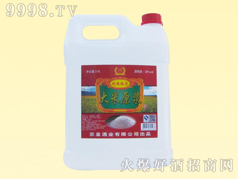 京畅大米原浆酒38度3.9L