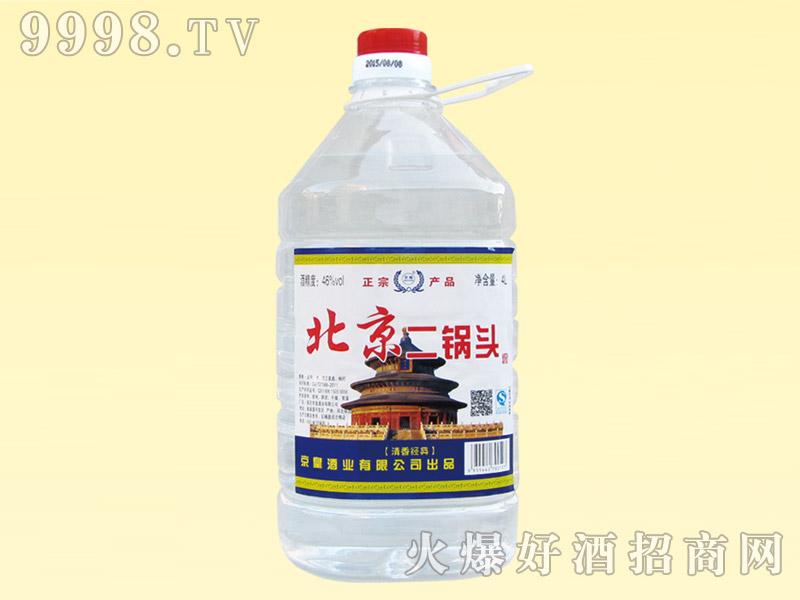 京畅北京二锅头酒46度4L(天坛)
