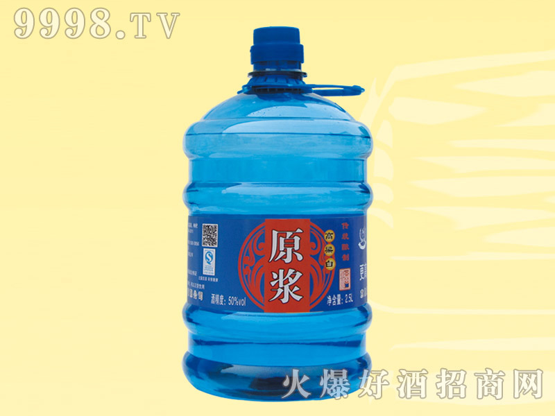 高粱白原浆酒50度2.5L